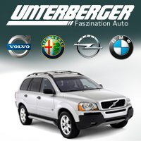 Website of Unterberger auto dealer