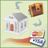 Interface of the payments choice